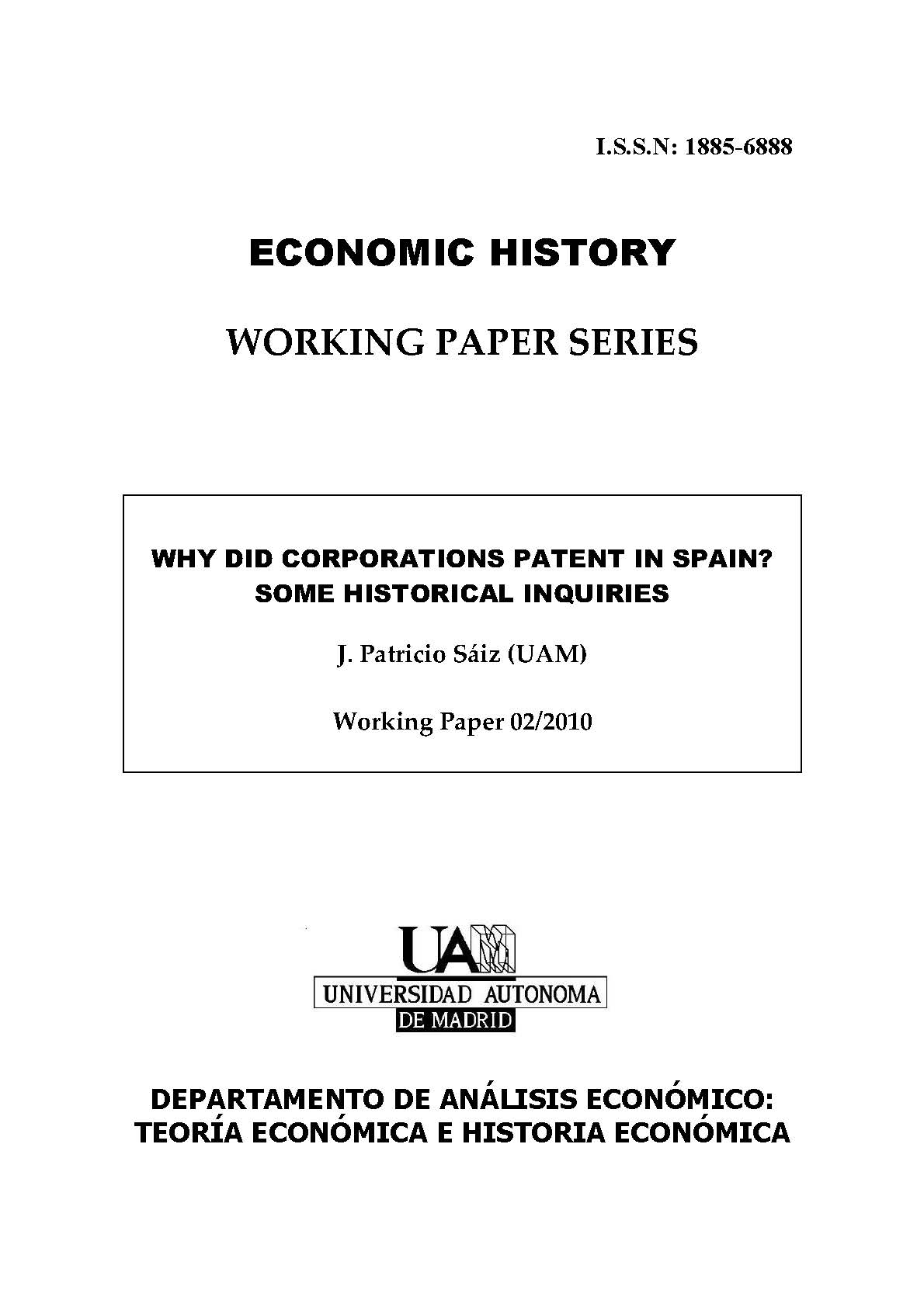 essays in economic history Essays in medieval indian economic history is part of a three-volume set,  comprising representative articles of indian history congress proceedings (1935 -85.